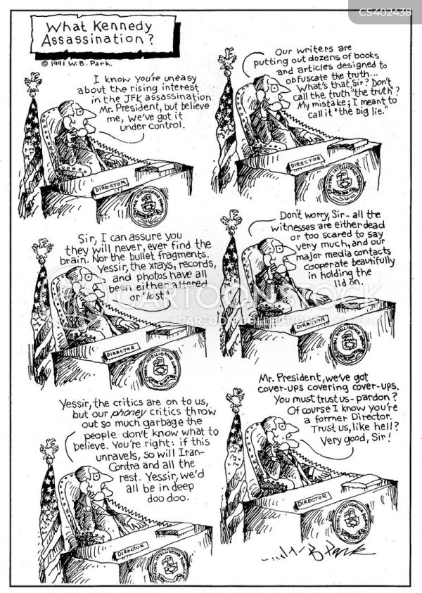 Jfk Cartoons and Comics - funny pictures from CartoonStock