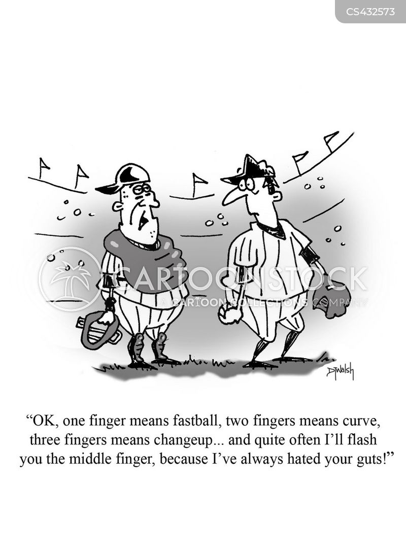 Middle Finger Picture Cartoon
