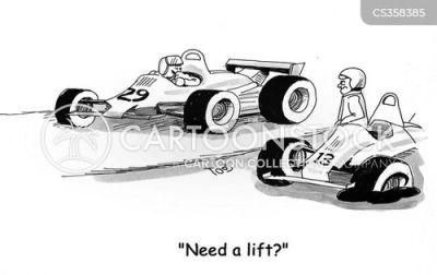 funny cartoon race car pictures. Black Bedroom Furniture Sets. Home Design Ideas