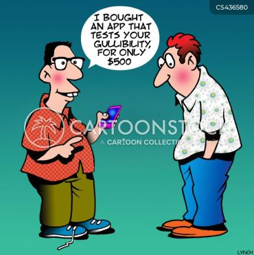 Gullibility Test Cartoons and Comics - funny pictures from ...