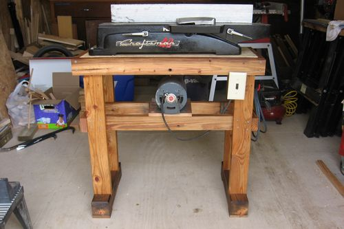 PDF DIY Jointer Stand Plans Download made by hand woodworking ...