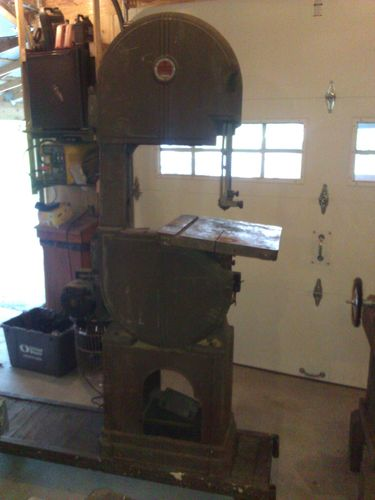 """Walker Turner 16""""Bandsaw. The things that dreams are made of. (2/6)"""