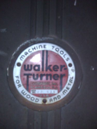 "Walker Turner 16""Bandsaw. The things that dreams are made of. (3/6)"