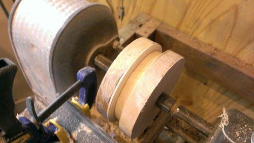 Shop built Thickness-Drum Sander (4/6)