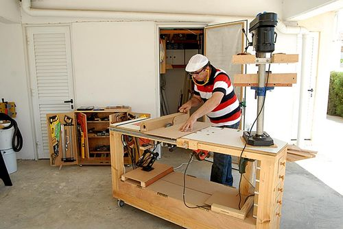 How to Build Woodworking Bench Power Tools