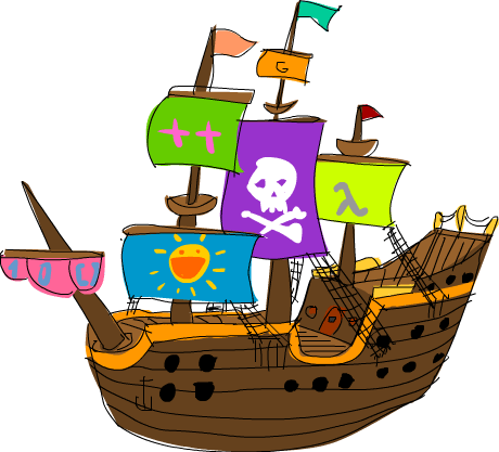 wow this is pretty much the gayest pirate ship<br /> ever