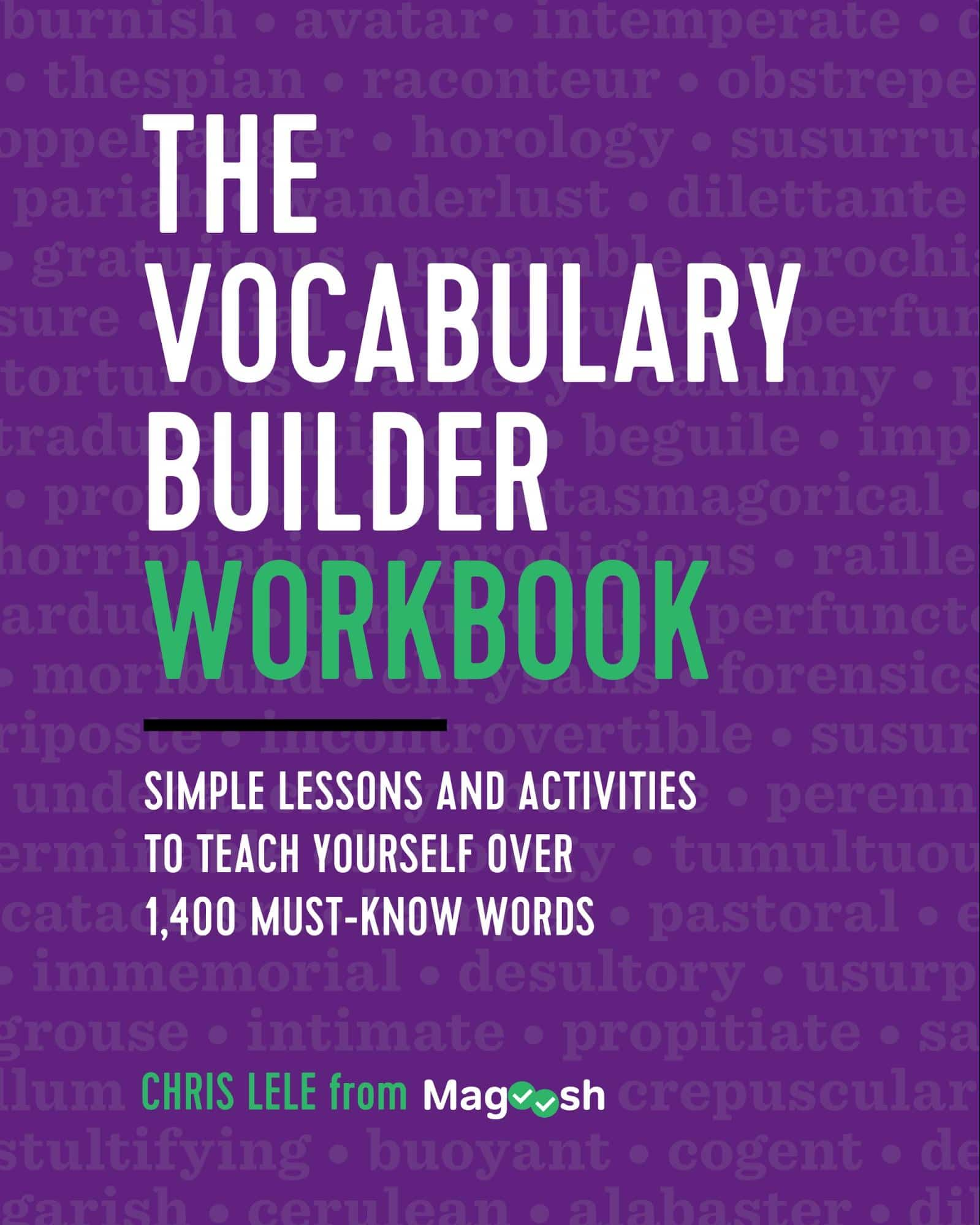 Announcing The Vocabulary Builder Workbook By Chris Lele