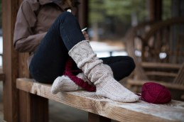 Slouchy Socks by Gwen Bortner