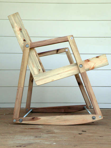 diy wooden rocking chairs