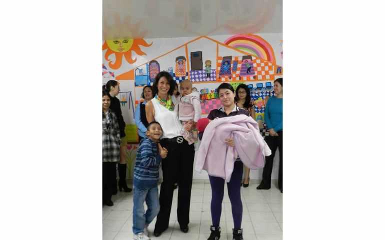 En casa de la Amistad para Niños con Cáncer, IAP.