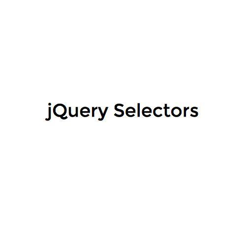 Printer Friendly - jQuery Selectors