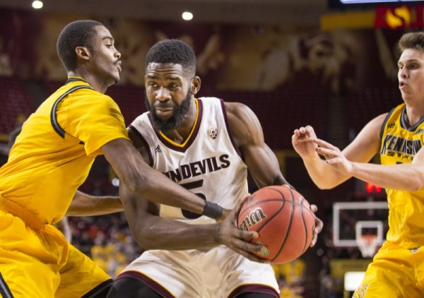 Oleka's breakout performance leads ASU men's basketball to ...