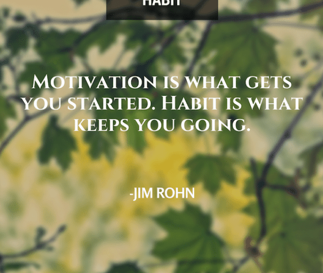 Jim Rohn Motivation Is What Gets You Going