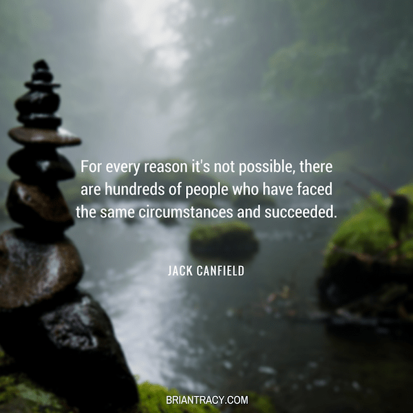 56 Motivational Inspirational Quotes   7 s My Favorite    Brian     Jack Canfield For every reason inspirational quote
