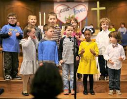 St. Barnabas United Methodist Church in Arlington   Music