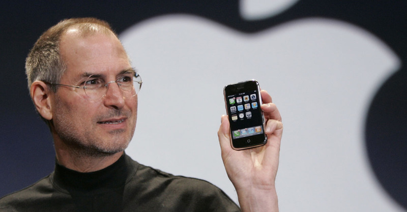 steve jobs iphone 2007 apple keynote