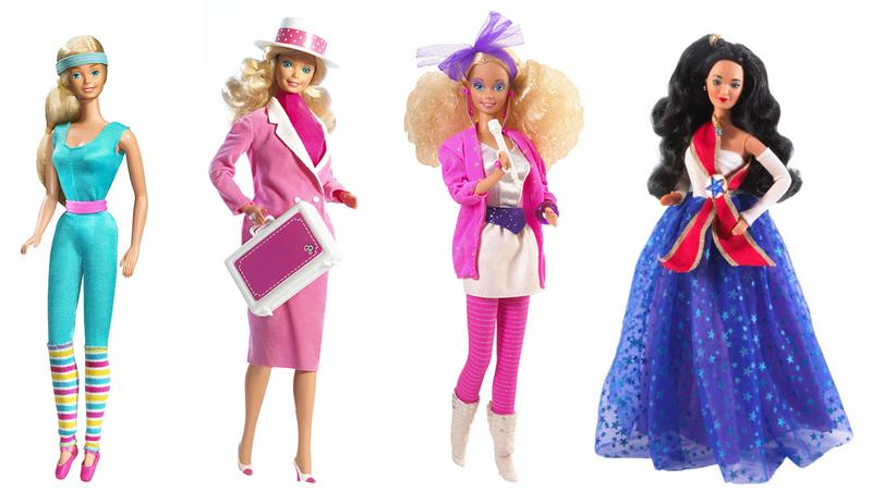 barbie aerobics business rock star unicef 1980s
