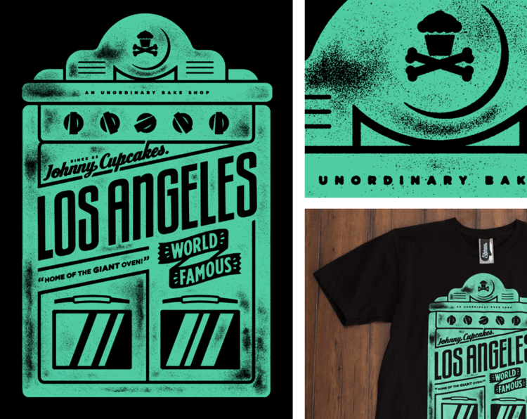 Johnny Cupcakes LA Oven