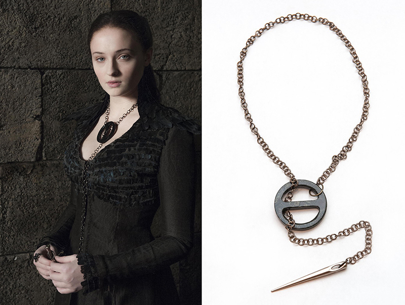 Sansa Stark season 4 necklace