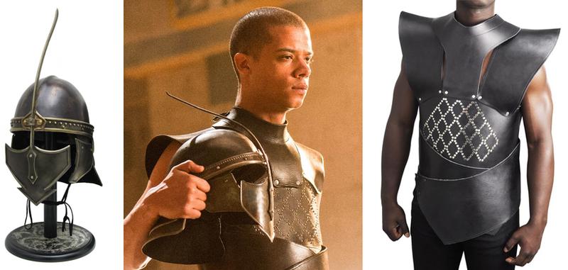 unsullied armor helmet valyrian steel