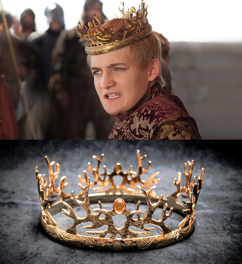 joffrey baratheon crown replica