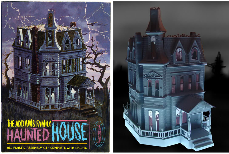 Adopt the addams family with these six creepy collectibles for Complete home building kits