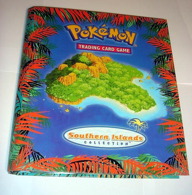 Pokemon Southern Islands Card Collection