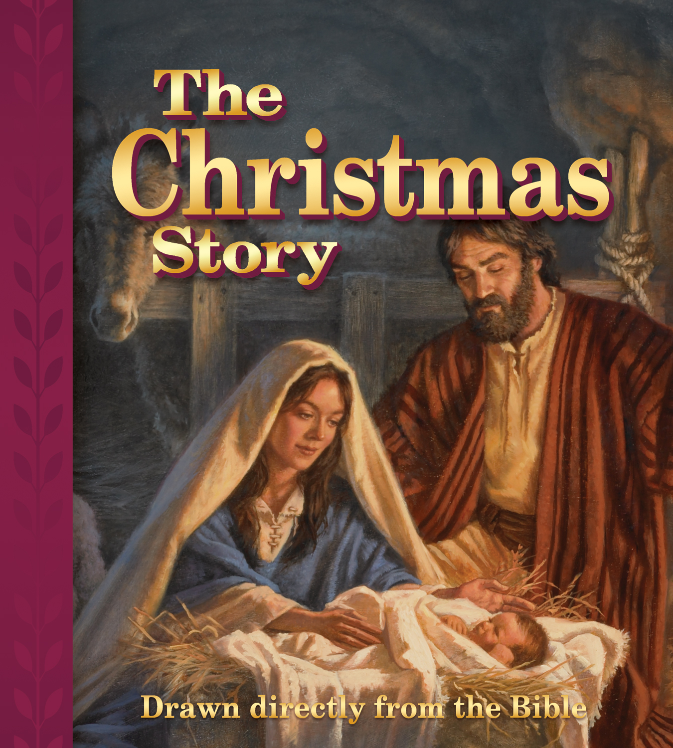 The Christmas Story Drawn Directly From The Bible