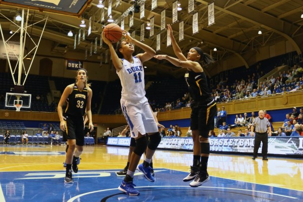 Duke women's basketball routs Pfeiffer 113-36 in opening ...