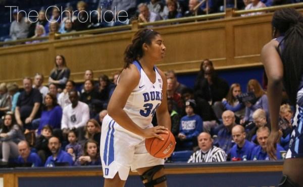 Duke women's basketball forward Lyneé Belton retiring due ...