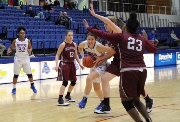 AU women's basketball suffer 59-50 defeat against Holy Cross