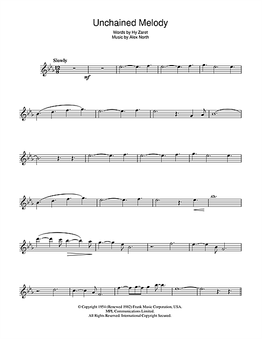 Unchained Melody Chords