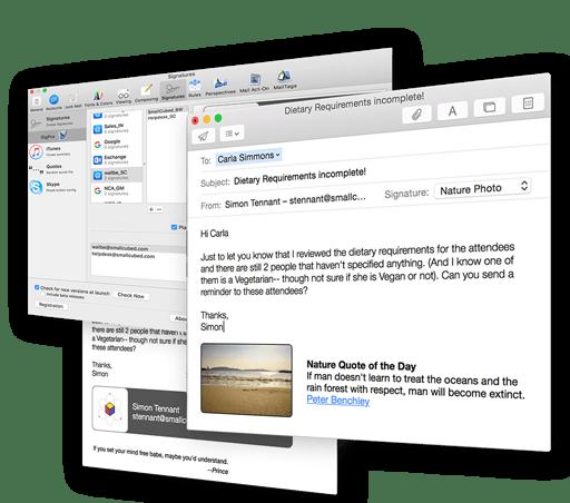 SigPro for Mac 2.1.2 注册版 - 邮件签名管理工具