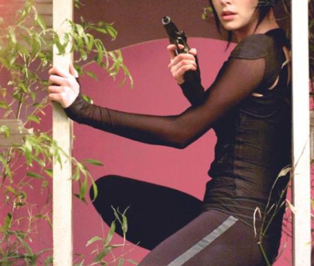 Monster Actress Turns Sexy Super Heroine