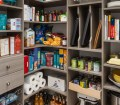 Walk In Pantry With Corner Shelves Easyclosets