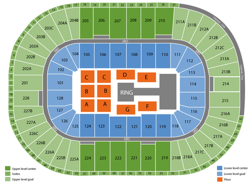 Soleil Louis Arena Cirque Seating Joe Chart De