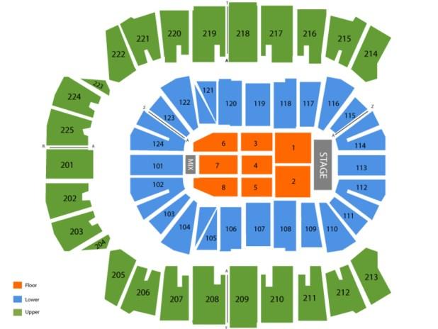 Centurylink Arena Seating Chart Idaho Billy Knight
