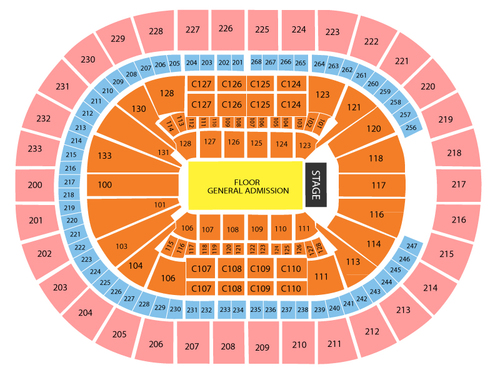 Katy Perry Cleveland Seating Chart
