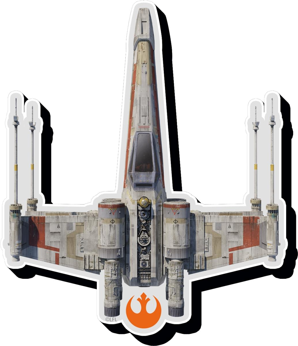 Star Wars X Wing Funky Chunky Magnet