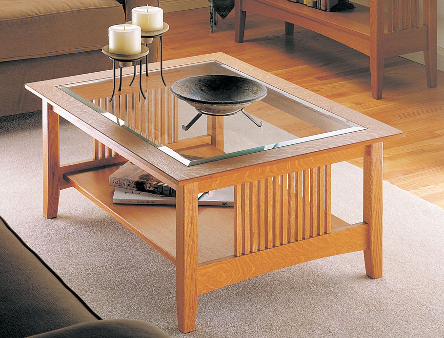 Craftsman Coffee Table | Woodworking Project | Woodsmith Plans on Coffee Table Plans  id=15831