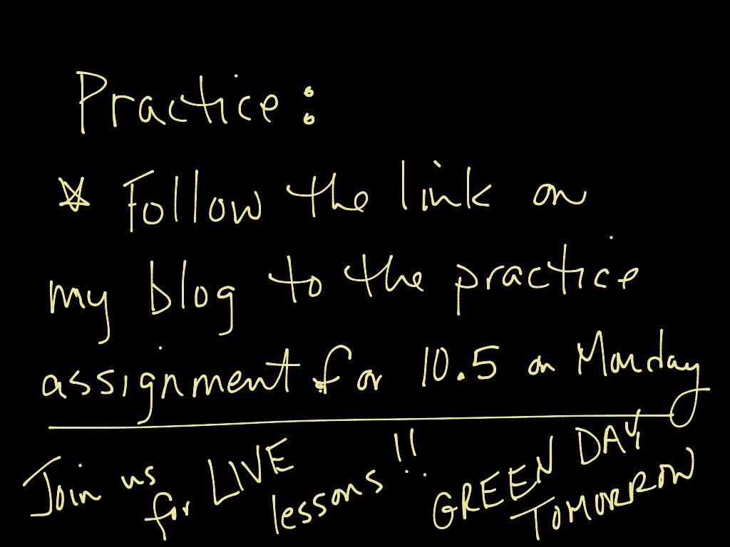 Ga 10 5 Fundamental Counting Principle