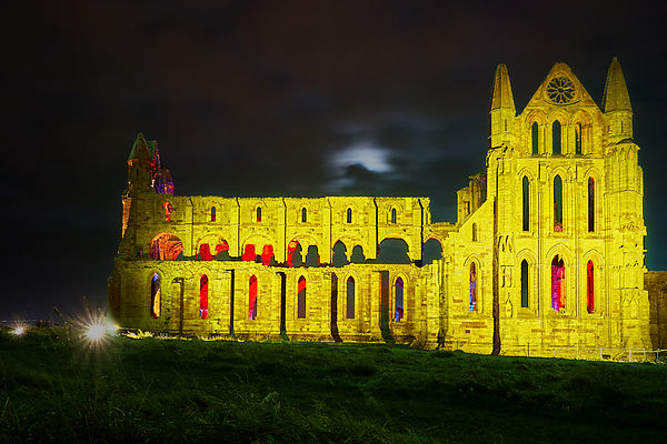 Whitby Abbey goth weekend