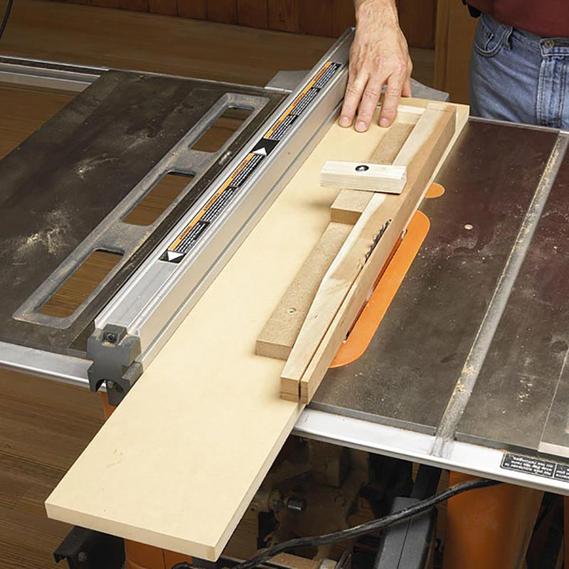 Super Simple Tapering Jig Woodworking Plan From WOOD Magazine