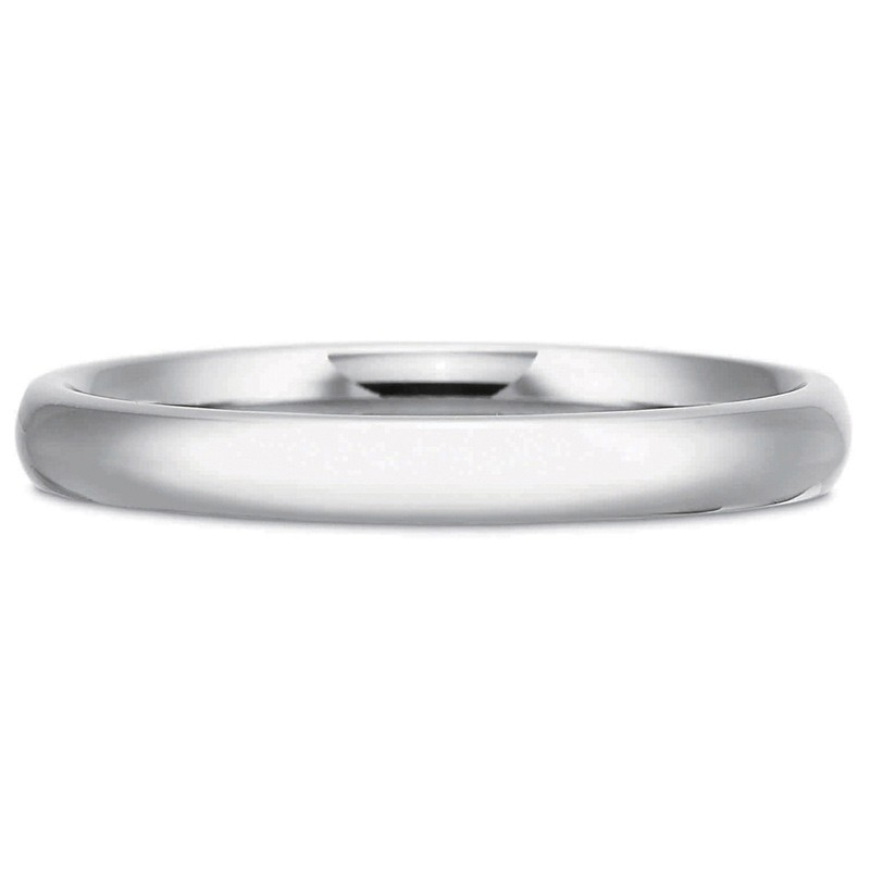 Precision Set PrecisionFit 3MM Dome Wedding Band Womens