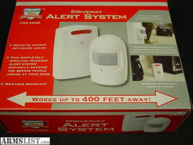 Bunker Hill Wireless Security Alert System 93068
