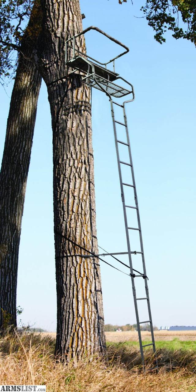 Diy tree stand plans - Double Elimination Two Man Ladder Stand