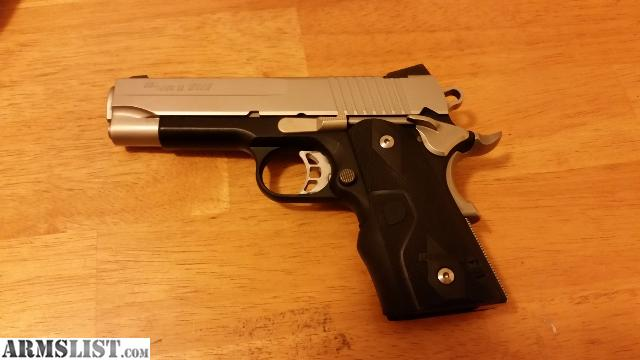 Sig 1911 Compact C3 45acp For Sale Modern Home Revolution
