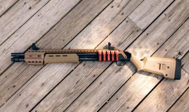 Mossberg 590 Wood Furniture | Wooden Thing