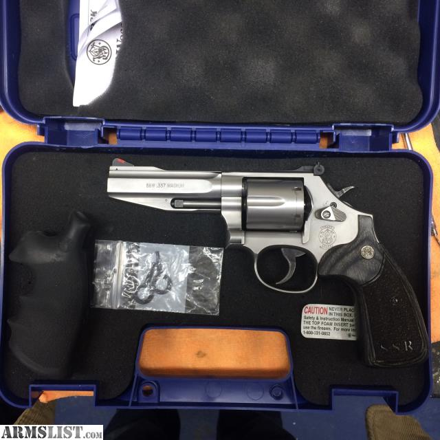 357 Wesson 686 Ssr Smith