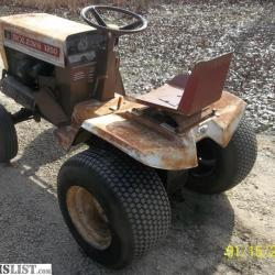 Fmc Bolens G14 Garden Tractor | Gardening: Flower and Vegetables